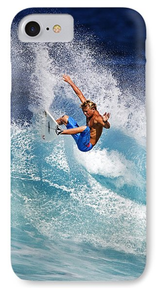Gouging The Wave  C6j0694 IPhone Case by David Orias