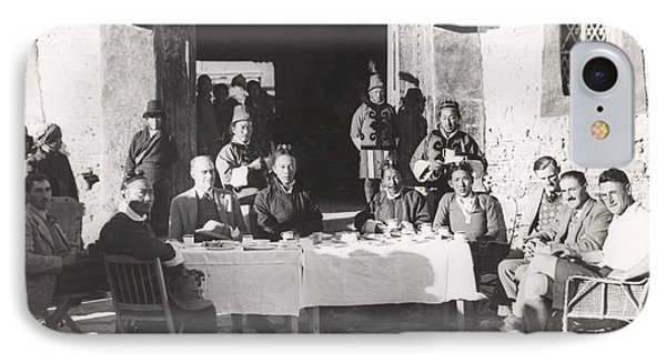 Gould Mission To Lhasa, Tibet, 1936 IPhone Case by British Library