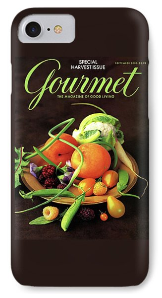 Gourmet Cover Featuring A Variety Of Fruit IPhone 7 Case by Romulo Yanes