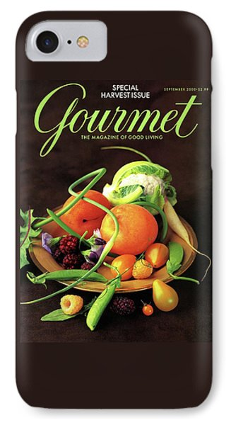 Gourmet Cover Featuring A Variety Of Fruit IPhone Case by Romulo Yanes