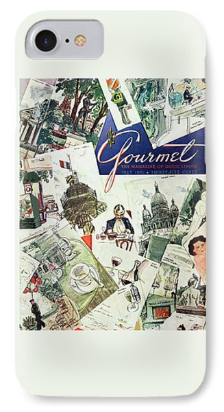 Gourmet Cover Illustration Of Drawings Portraying IPhone Case
