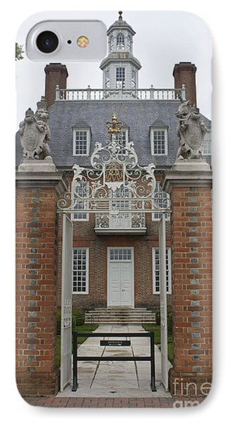 Governors Palace IPhone Case by Teresa Mucha