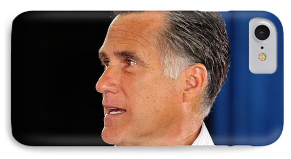 Govorner Mitt Romney IPhone Case by Janice Rae Pariza