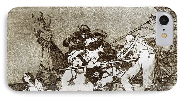 Goya Disasters Of War IPhone Case by Granger