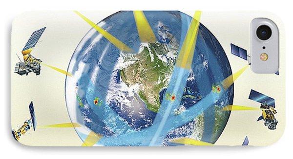 Gpm Satellite Constellation IPhone Case by Nasa/goddard