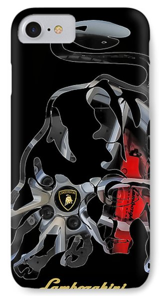 Grab The Bull By The Horns IPhone Case by Michael White