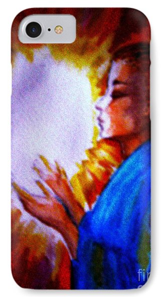IPhone Case featuring the painting Grace - 1 by Leanne Seymour