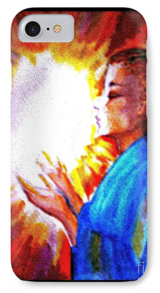 IPhone Case featuring the painting Grace - 2 by Leanne Seymour