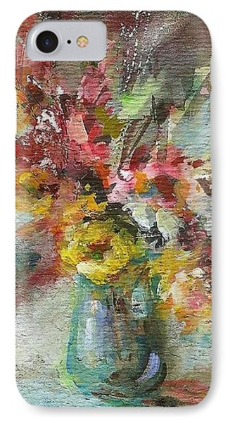 Grace And Beauty IPhone Case by Mary Wolf