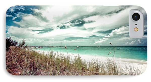 Grace Bay IPhone Case by Maria Robinson