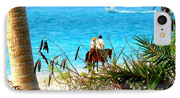 IPhone Case featuring the photograph Grace Bay Riding by Patti Whitten