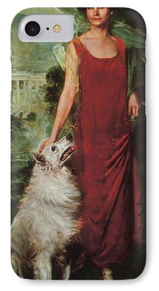 Grace Coolidge, First Lady IPhone Case by Science Source