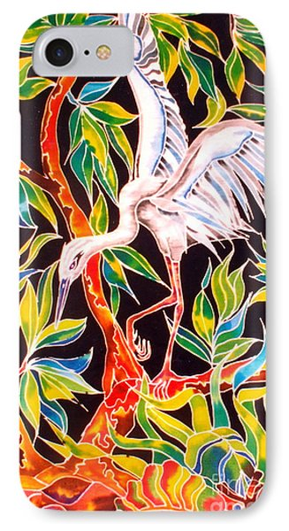 IPhone Case featuring the painting Grace In Motion by Julie  Hoyle