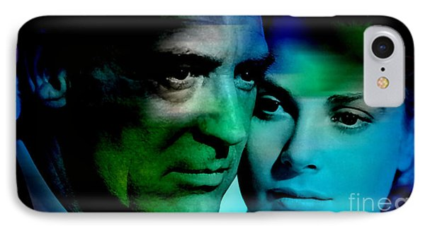 Grace Kelly And Cary Grant IPhone Case by Marvin Blaine