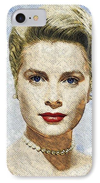 Grace Kelly IPhone Case by Taylan Apukovska