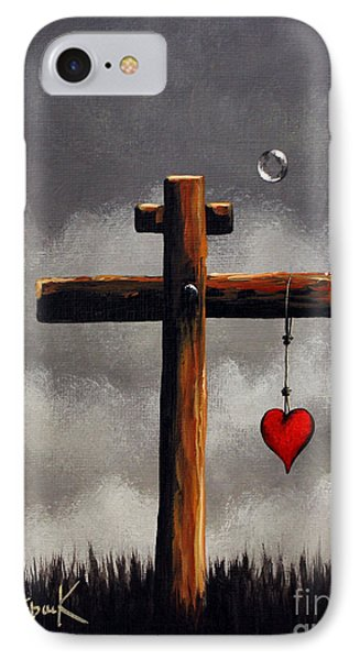 Grace Lives Here By Shawna Erback IPhone Case by Shawna Erback