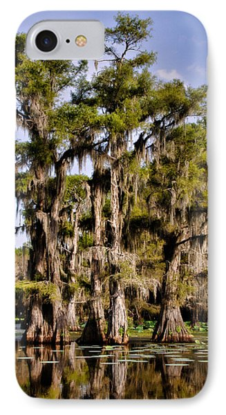 IPhone Case featuring the photograph Grace Of Caddo by Lana Trussell