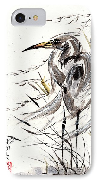 IPhone Case featuring the painting Grace Of Solitude by Bill Searle