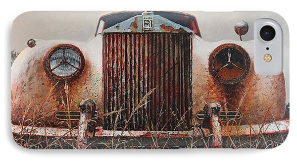 Grace - Rolls Royce IPhone Case by Blue Sky