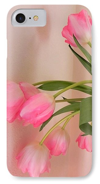 Graceful And Delicate IPhone Case by Peggy Stokes