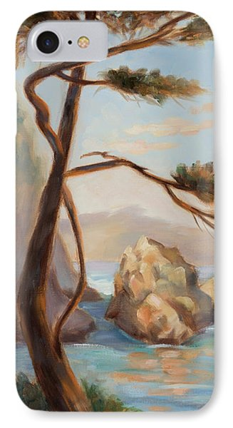 Graceful Pine In Afternoon Light At Point Lobos Phone Case by Karin  Leonard