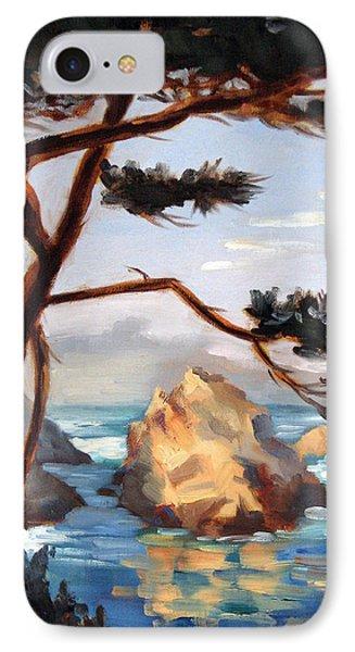 Graceful Pine Pt. Lobos Phone Case by Karin  Leonard