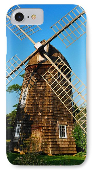 Graceful Windmill IPhone Case by James Kirkikis