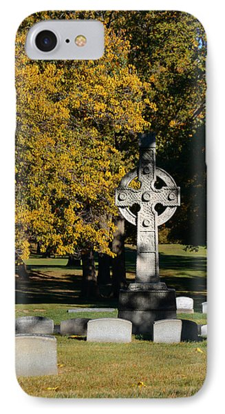 Graceland Cemetery Chicago - Tomb Of John W Root Phone Case by Christine Till