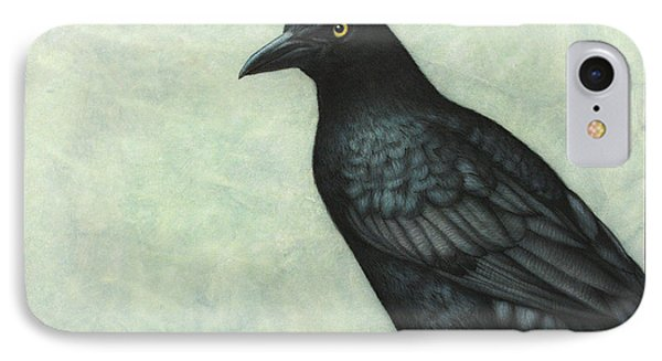Grackle IPhone Case by James W Johnson