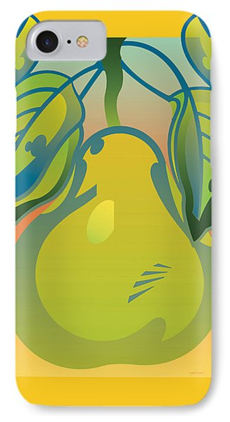 Gradient Pear IPhone Case