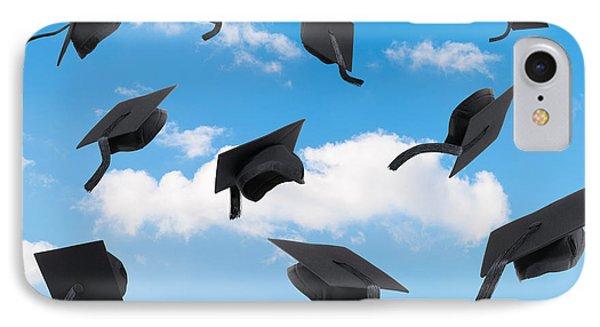 Graduation Mortar Boards IPhone Case