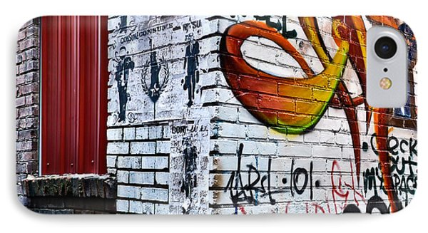 Graffiti Alley IPhone Case by Greg Jackson