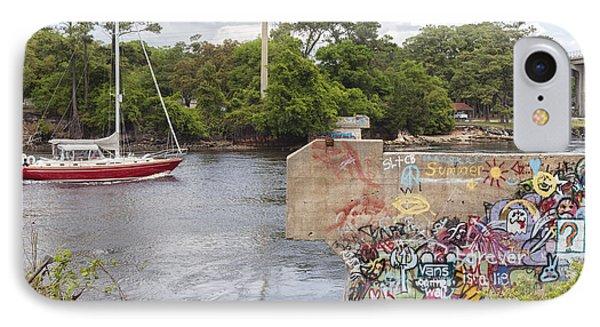 Graffiti Bridge Image Art IPhone Case
