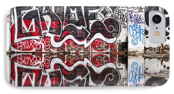 Graffiti Phone Case by Carol Leigh