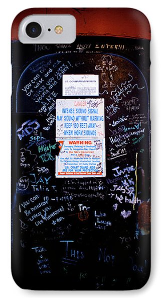 Graffiti Door IPhone Case by Sebastian Musial