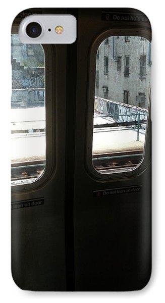 Graffiti From Subway Train Phone Case by Mieczyslaw Rudek