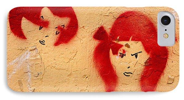 Graffiti Girls 02 Phone Case by Rick Piper Photography