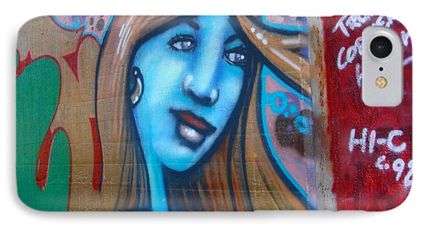 Graffiti Kansas City 6 IPhone Case by Ellen Tully