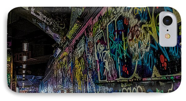 Graffiti Leake Street London IPhone Case by Martin Newman