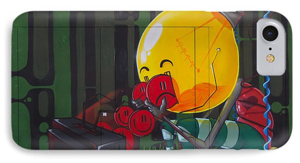 Graffiti Stokes Croft Phone Case by Brian Roscorla