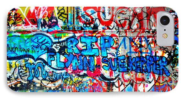 Graffiti Street Phone Case by Bill Cannon