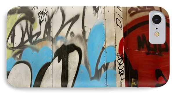 IPhone Case featuring the photograph Graffiti Writing Nyc #2 by Ann Murphy