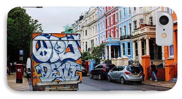 Grafitti Truck IPhone Case by Nicky Jameson