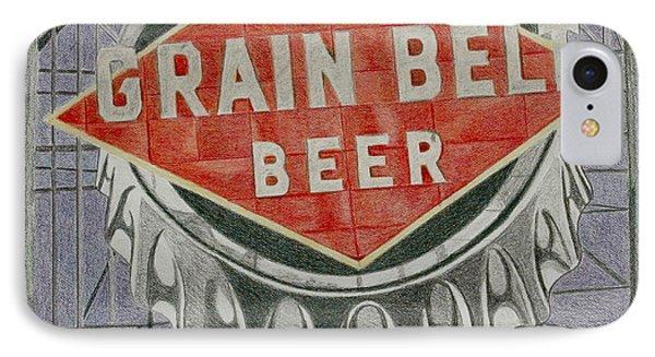 Grain Belt Beer IPhone Case