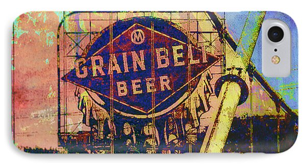 Grain Belt Beer IPhone Case by Susan Stone