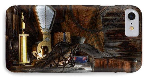 Grain Elevator Phone Case by Bob Christopher