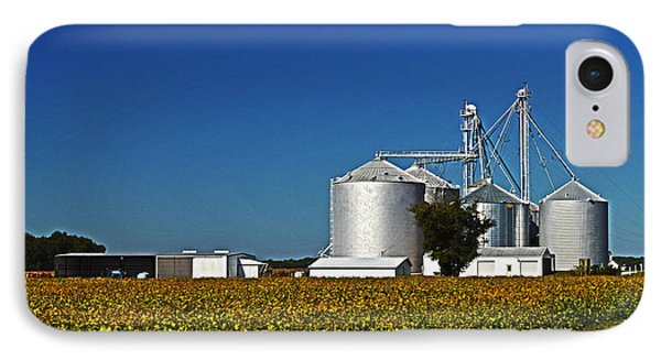 Grain Elevator On Starr Road IPhone Case