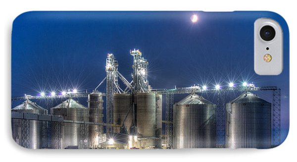 Grain Processing Plant IPhone Case by Paul Freidlund