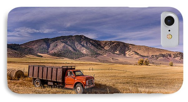 Grain Truck IPhone Case by Jeremy Farnsworth