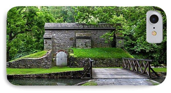 Graining Mill And Sluice Bridge. Hagley Museum. IPhone Case by Chris  Kusik